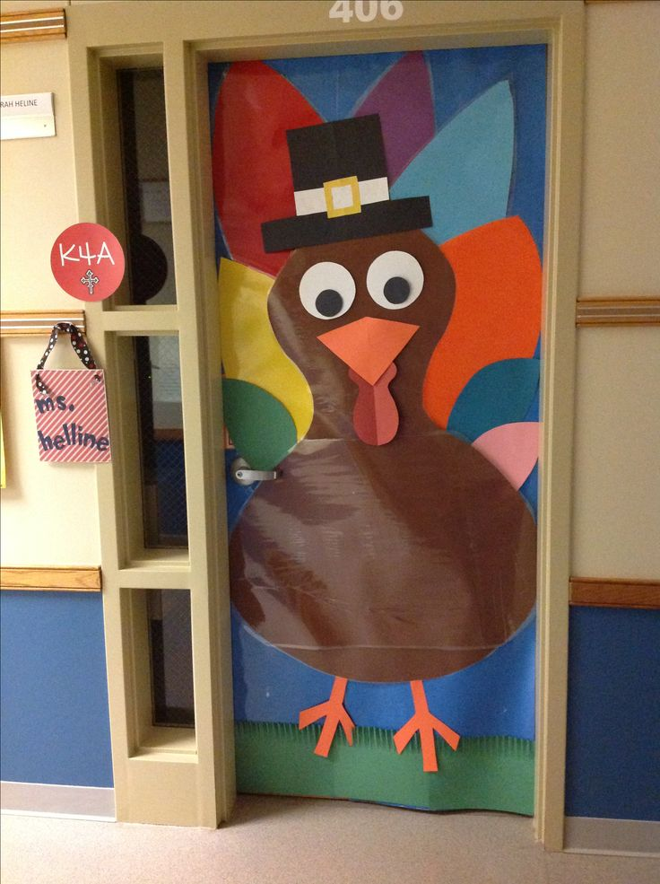 Thanksgiving, The doors and Classroom on Pinterest ~ 172828_Thanksgiving Door Decoration Ideas For Classroom
