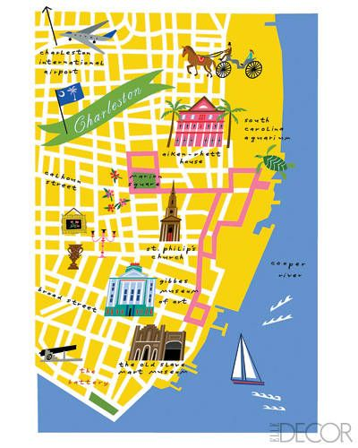 Charleston - there's a cool restaurant missing off this map, but other'n that...