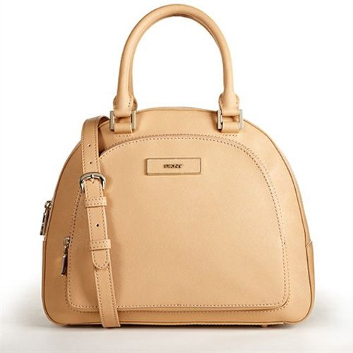 dkny bags | PRE NEXT New Arrival DKNY Saffiano Round Pocket Tan