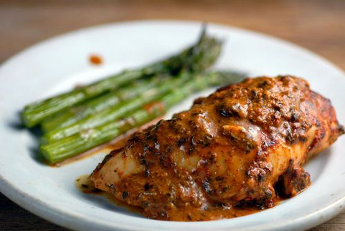 Serve tangy Baked Mustard Lime Chicken for dinner with a side of ...