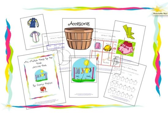 Free Mrs. McNosh Activities Pack! - The Organized Classroom Blog