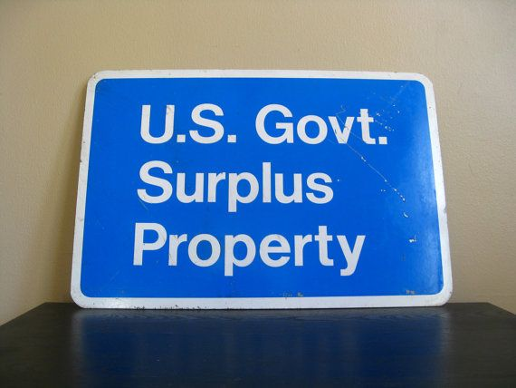 government surplus property auctions