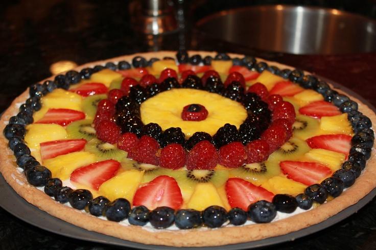 Fruit Pizza II | Recipe