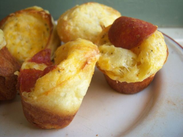 home - pizza popovers | Comfort Food | Pinterest