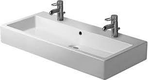 Long Bathroom Sink With Two Faucets : long bathroom sink - Google Search sinks Pinterest