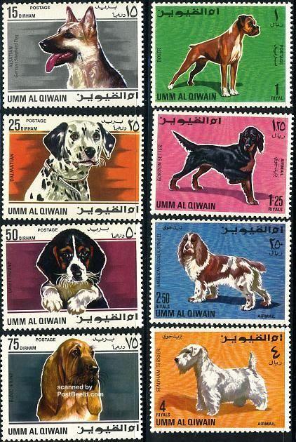 Σκύλοι σε γραμματόσημα...