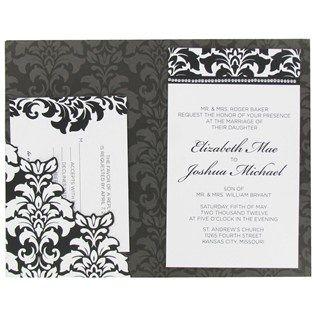 Wedding invitation templates hobby lobby yaseen for for Hobby lobby blank wedding invitations