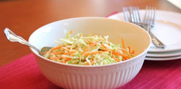 Lisa's Dinnertime Dish for Great Recipes! – Coleslaw Minus the Mayo