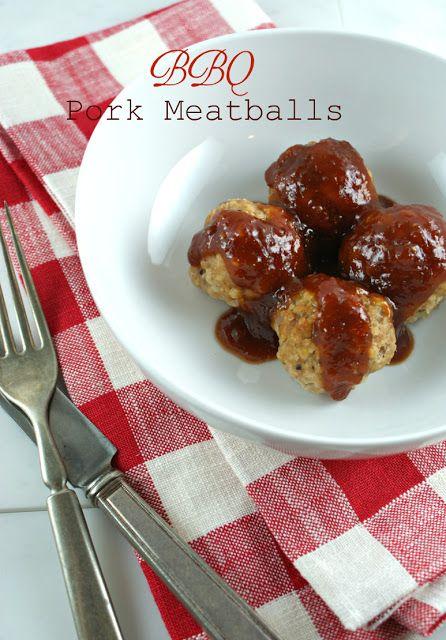 "... Suburban Gourmet: BBQ Pork Meatballs + ""Lower East Side"" BBQ Sauce"