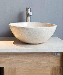 Stone Basin : Stonearth - Complete Natural Bathrooms Beach House Bathroom Pinte ...