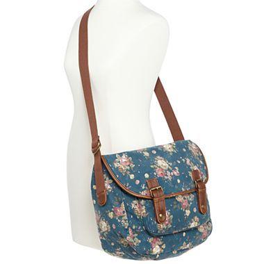 Olsenboye® Floral-Print Messenger Bag - jcpenney - Anna