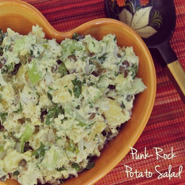Potato Salad With Horseradish Recipe — Dishmaps