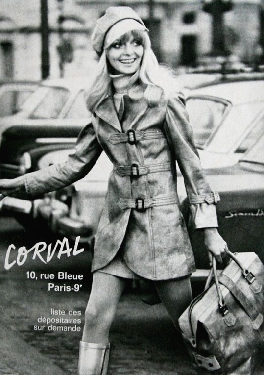 Magdorable!:  Corval Fashion, Jardin des Modes April 1969