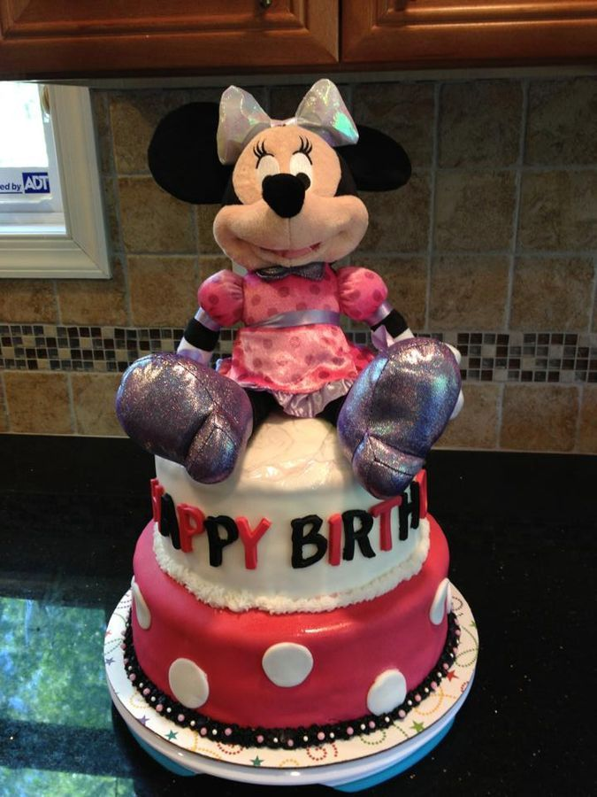 Minnie Mouse 2nd Birthday cake  Cakes  Pinterest