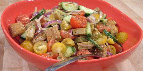 Tomato & Bread salad | Cuisine | Pinterest