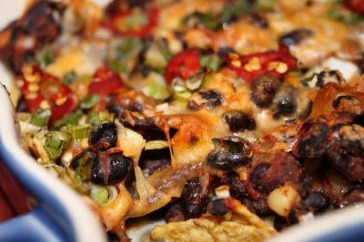 Black Bean Nachos | Veggie-Friendly Recipes | Pinterest