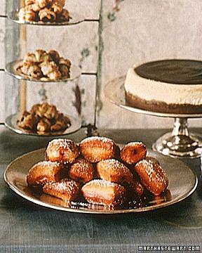 Cinnamon Honey Doughnuts with Raspberry Jam - Martha Stewart Recipes