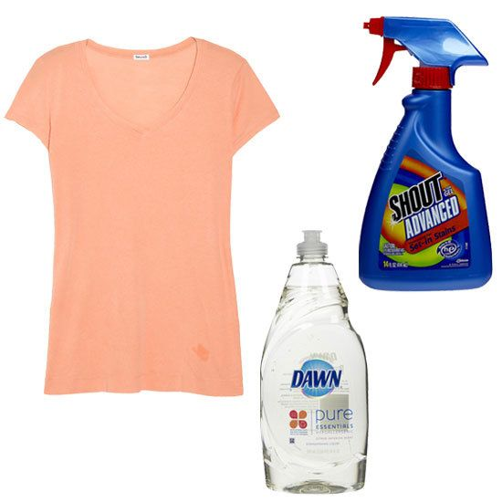 Style sos how to battle oil stains and win for How to get rid of grease stains on shirts