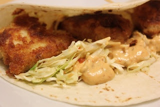 ... Have Missed Monday: Fish Tacos with Honey-Cumin Slaw and Chipotle Mayo