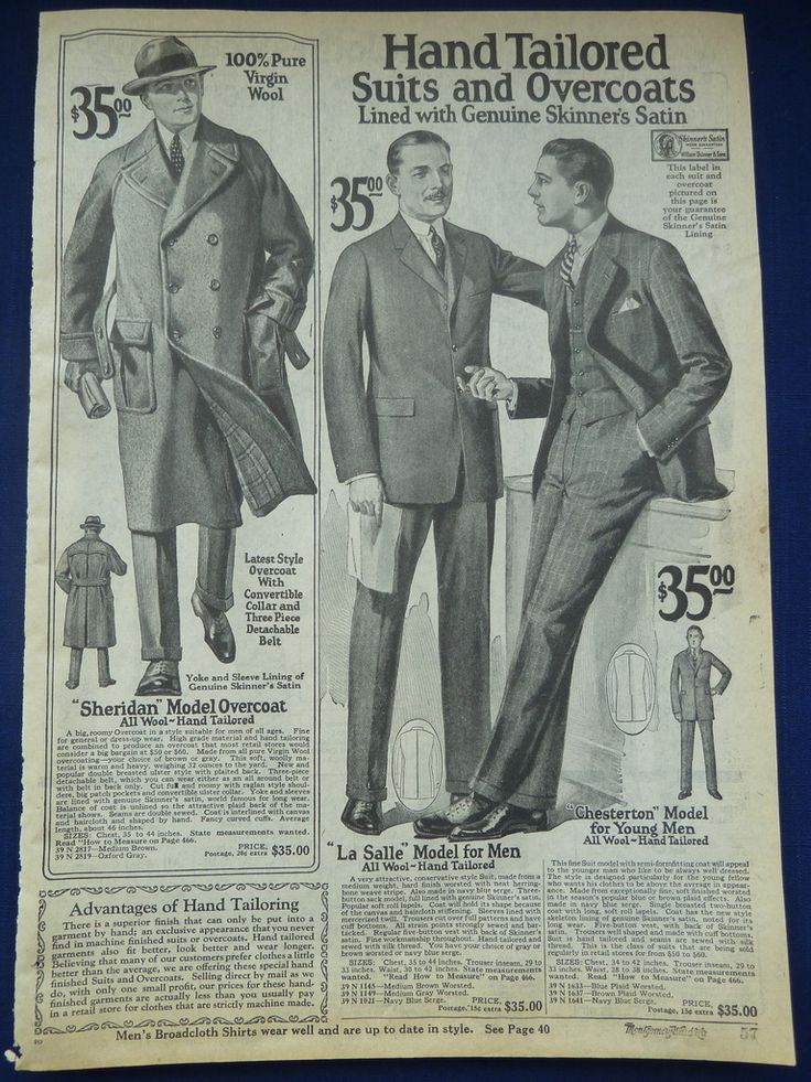 mens suits original vintage antique 1920 s wards clothing