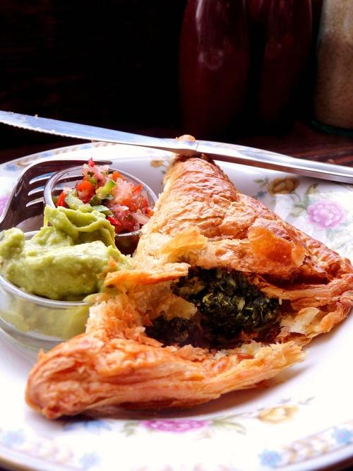 Cheese & Spinach Empanada | YUM! | Pinterest