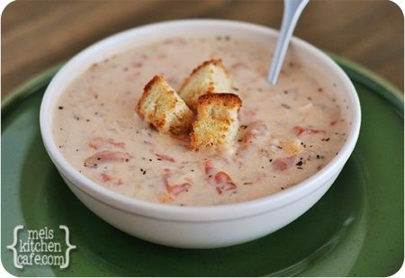 Slow Cooker Tomato Basil Soup. | Soup! | Pinterest