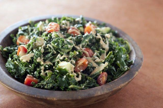 Marinated Kale & Sesame Salad. | Food-Salads incl Dressings, Salsas ...