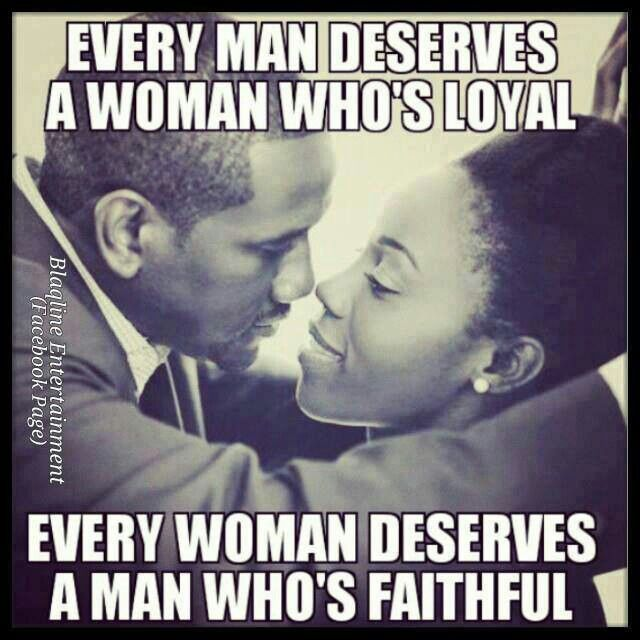 loyalty and faithfulness in a relationship