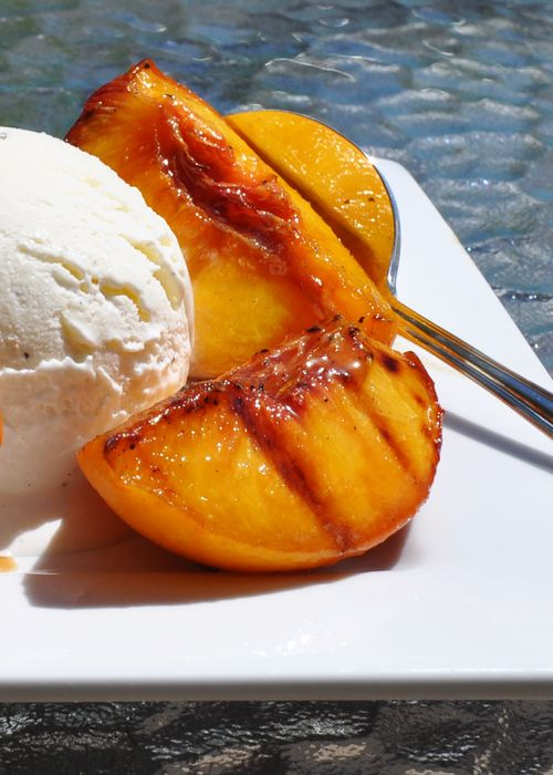 grilled georgia peaches ice cream | Favorite Recipes-Sweets | Pintere ...