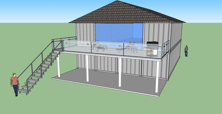 Off Grid Living Shipping Container Home Plans House