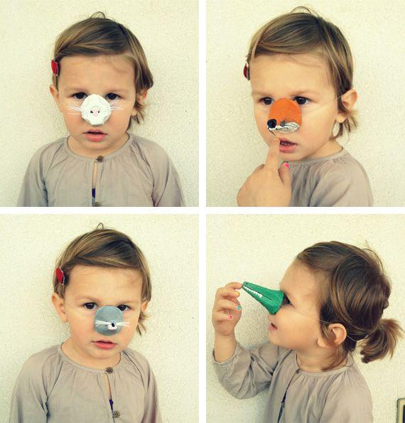 DIY Egg Carton Animal Noses
