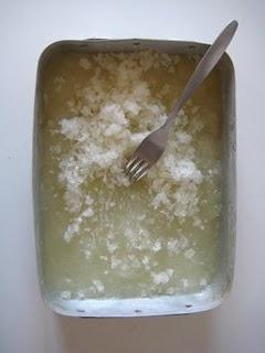 Lemon Granita looks so tasty and simple! | Foods To Try | Pinterest