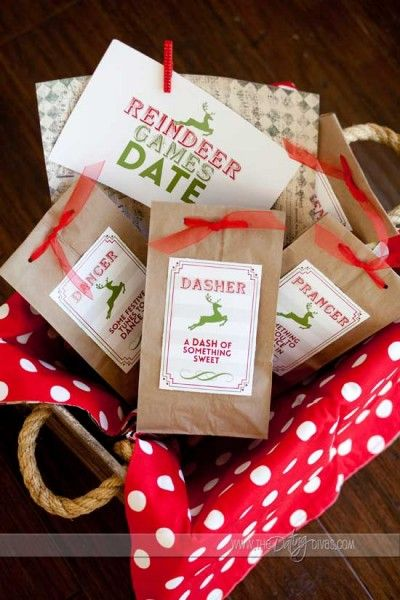 Reindeer Games Date- this is just wayyyy too fun!