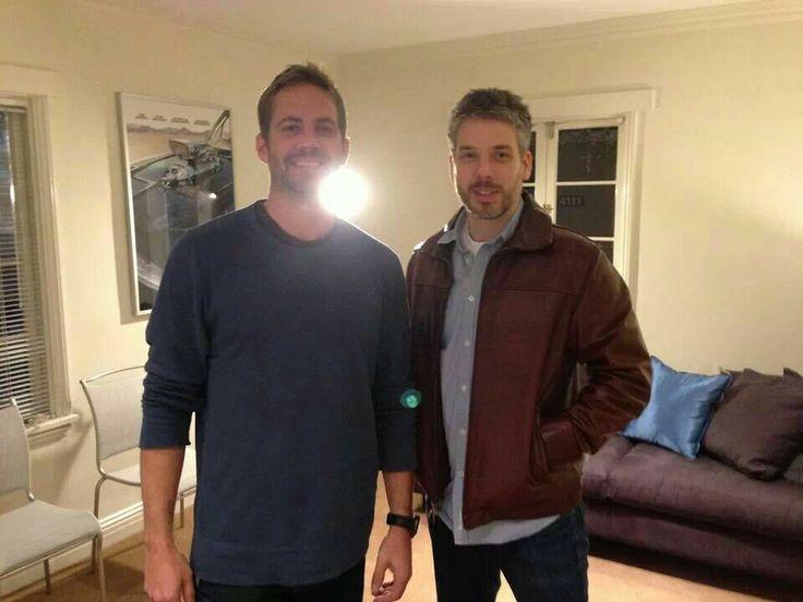 Paul Walker and Paul Vincent (Vin Diesels twin brother) | Celebs