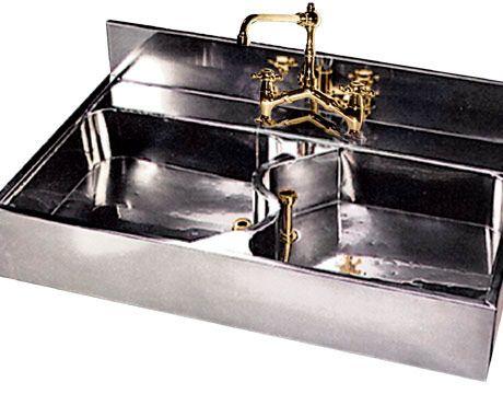 German Silver Sink Architecture Pinterest