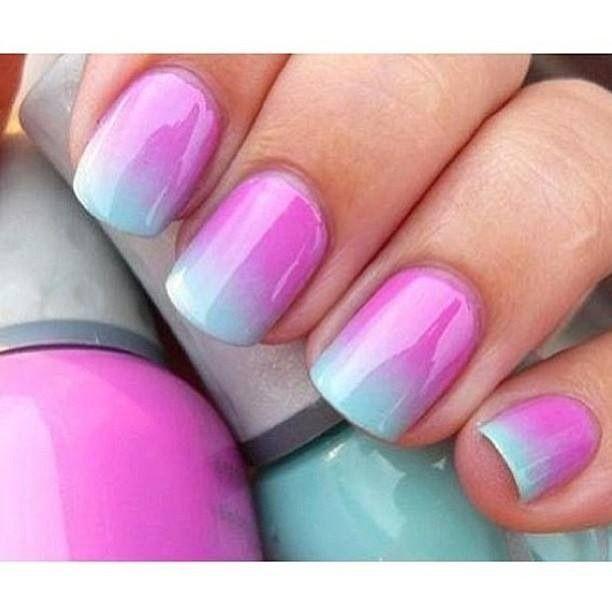 Pretty Spring Color Nail Polish Idea..