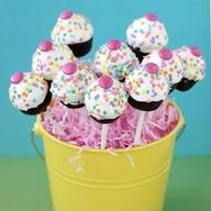 Cupcake Pops and Bites | Recipe