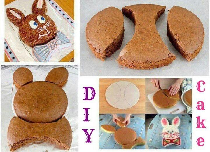 easy Bunny cake | Taste Treats | Pinterest