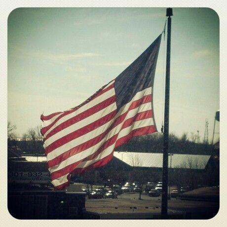 american flag animated