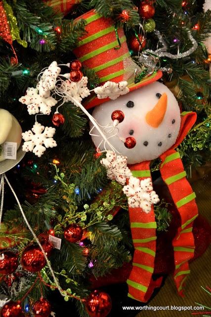 Christmas Decor via Worthing Court blog | Christmas DIY | Pinterest