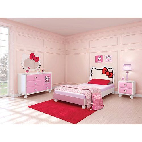 hello kitty bedroom in a box kid 39 s furniture pinterest