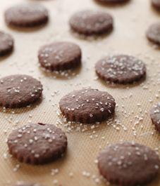 Salt & Pepper Chocolate cookies....sounds interesting.