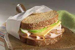 kraft: turkey apple sandwich... | New food ideas | Pinterest