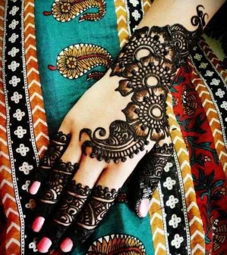 Mehndi beauty