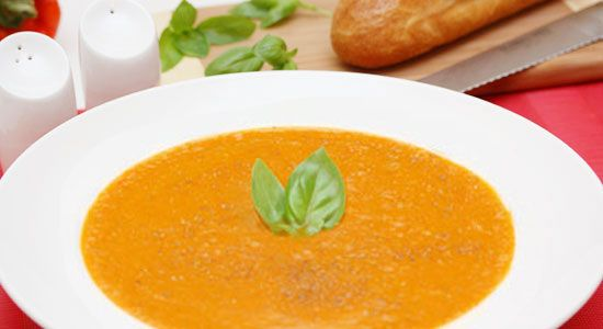 Roasted Tomato and Basil Soup Recipe - weightloss.com.au