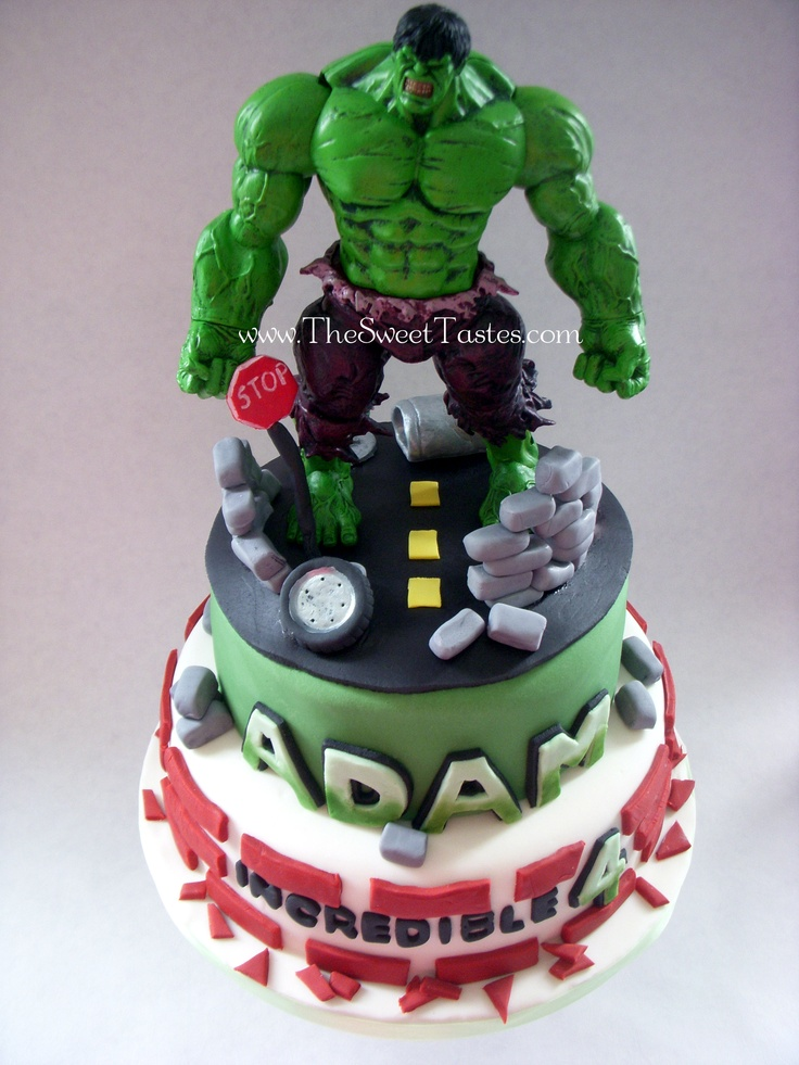 Hulk birthday cake  Birthdays  Pinterest
