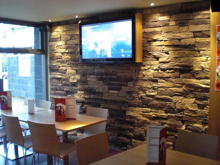 Interior Stone Wall Homeowner Pinterest