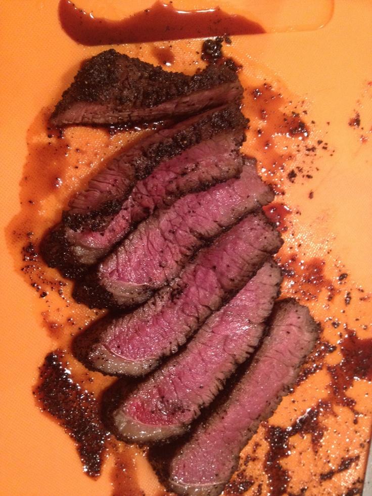 Coffee Rubbed Steak!