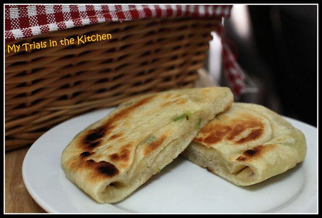 Chinese Scallion Pancake | Eat | Pinterest