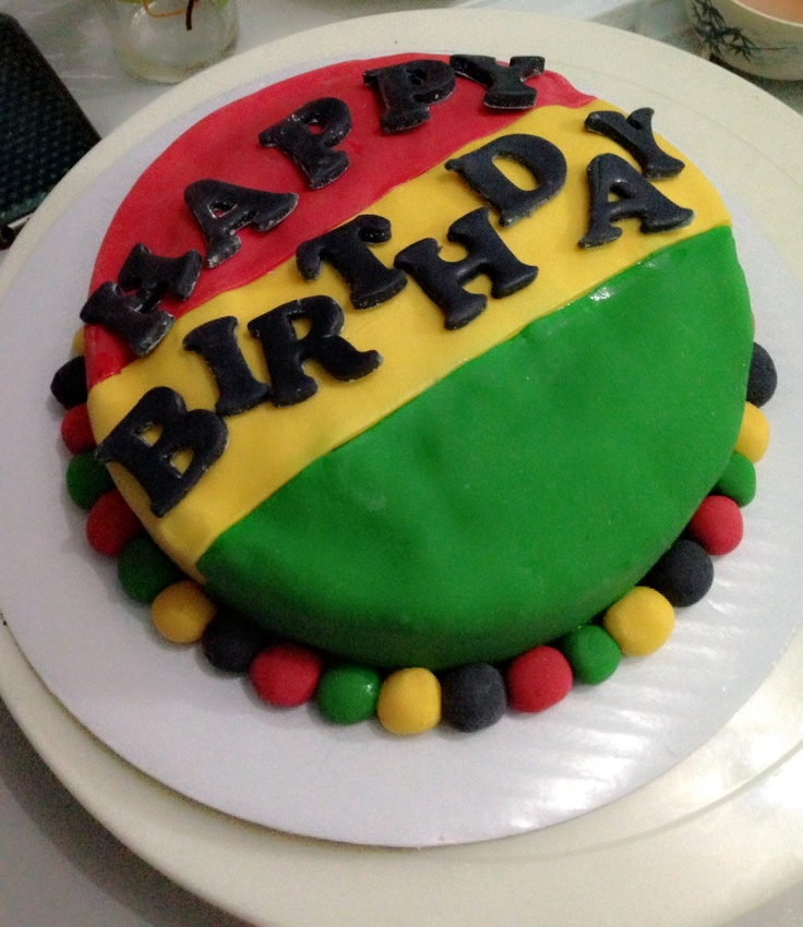 reggae birthday cakes